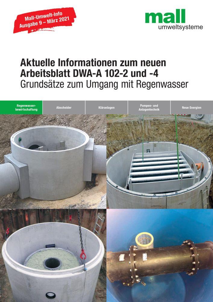 Die aktuelle Umwelt-Info zeigt, wie eine Anlage nach Arbeitsblatt DWA-A 102 bemessen wird.