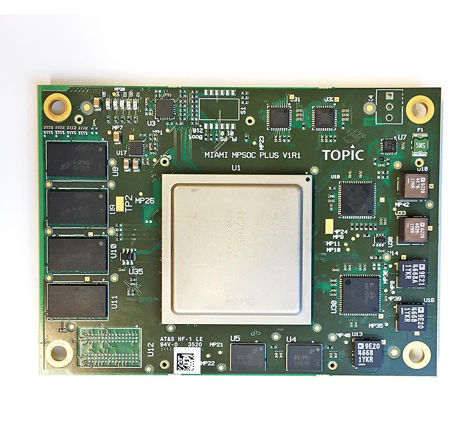 "ARIES Embedded nimmt TOPICs System-on-Modules ""Miami"" mit Xilinx SoCs ins Programm für Zentraleuropa"