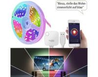 Luminea Home Control USB-RGB-LED-Streifen WRL-30