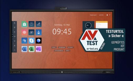 Prowise Touchscreen Ten erhält unabhängige Sicherheitsauszeichnung AV-Test