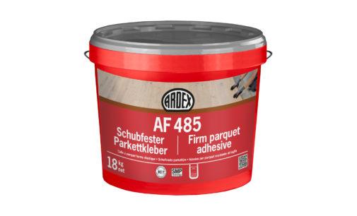 Für die schubfeste Verklebung von Massivholzböden: neuer hartelastischer SMP-Parkettklebstoff von Ardex