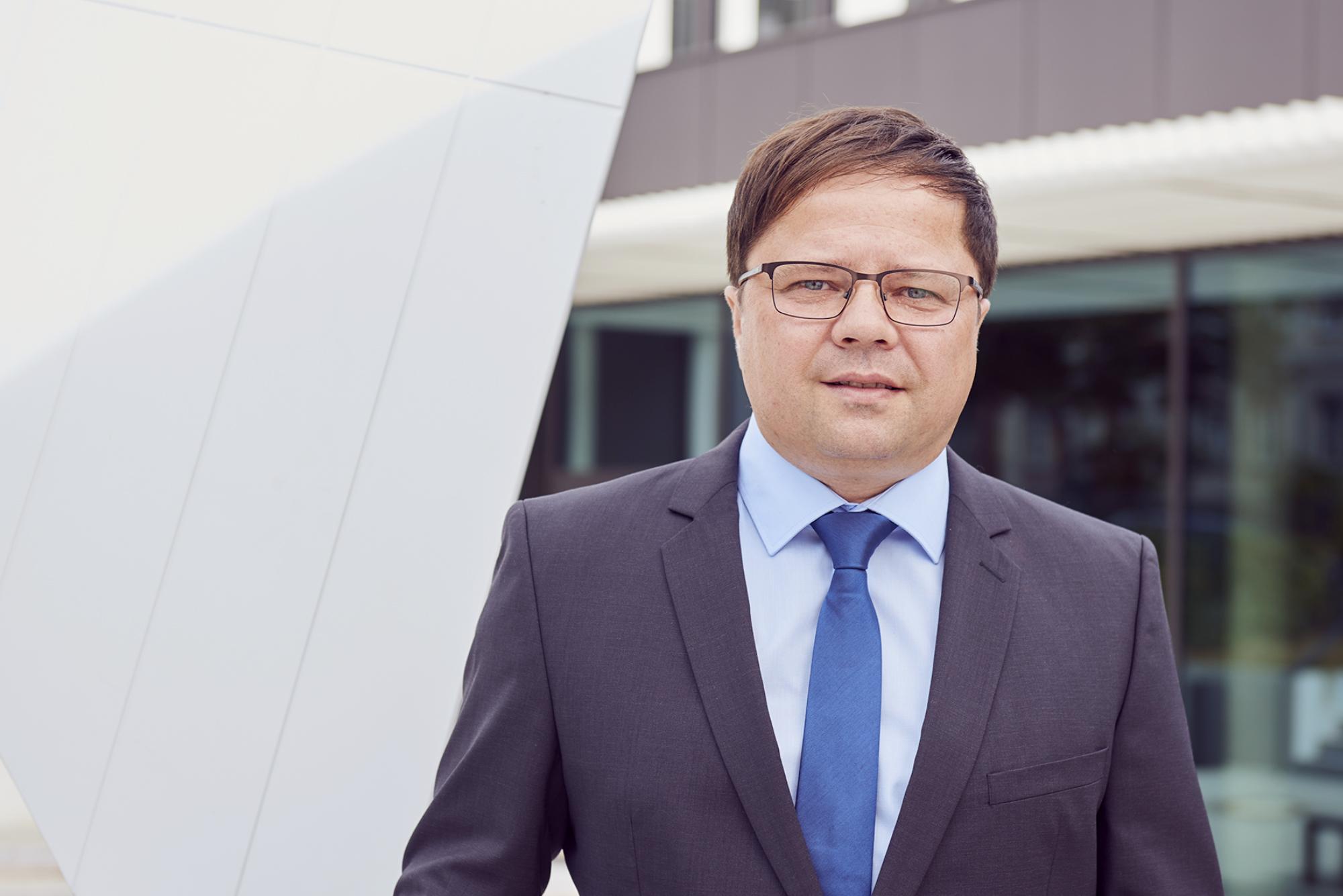 Andreas Kiss, Geschäftsführer VSB Service GmbH