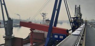 Neue Logistiklösung von SMB International: Komplexes Schiffsbeladeprojekt im Hafen von Danzig