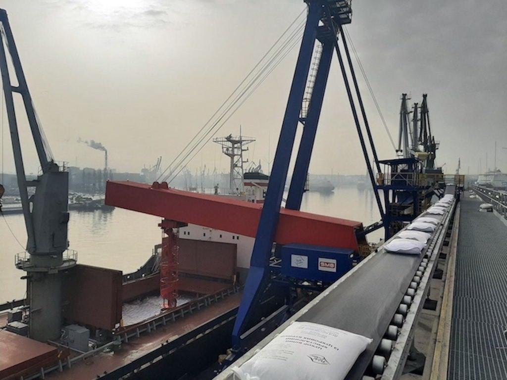SMB Schiffsbeladesysteme im Einsatz in Danzig