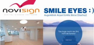 NoviSign und Smile Eyes – Patienten TV