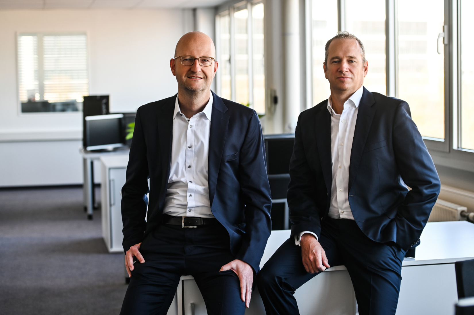 Markus Stotz (links), CFO, und Alexander Wolff (rechts) CEO der MCL Group