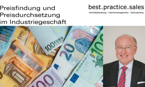Professionelles Pricing ist Ihr Schlüssel zum Erfolg