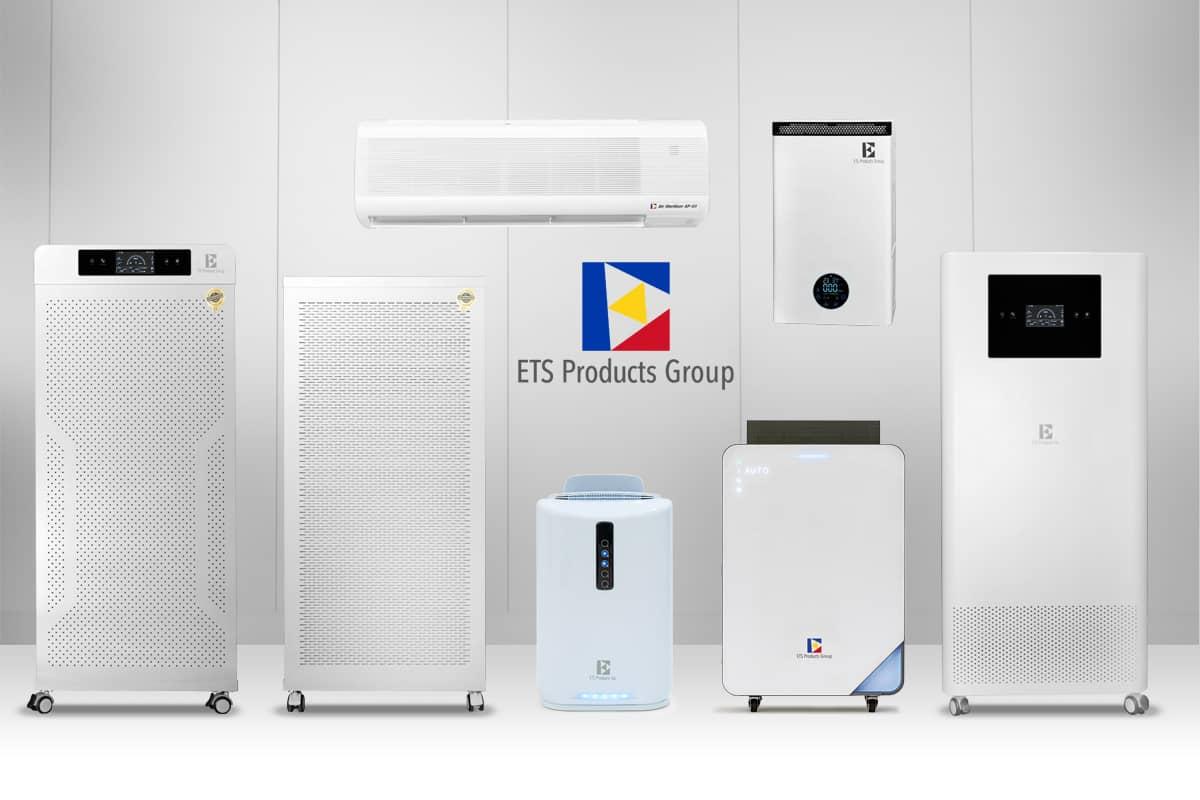 ETS-Luftreinigungssystemen   Luftreiniger