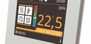 Digital Thermostat X1 für Fußbodenheizung Potentialfrei