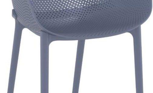 Neuer Design Terrassenstuhl aus Polypropylen