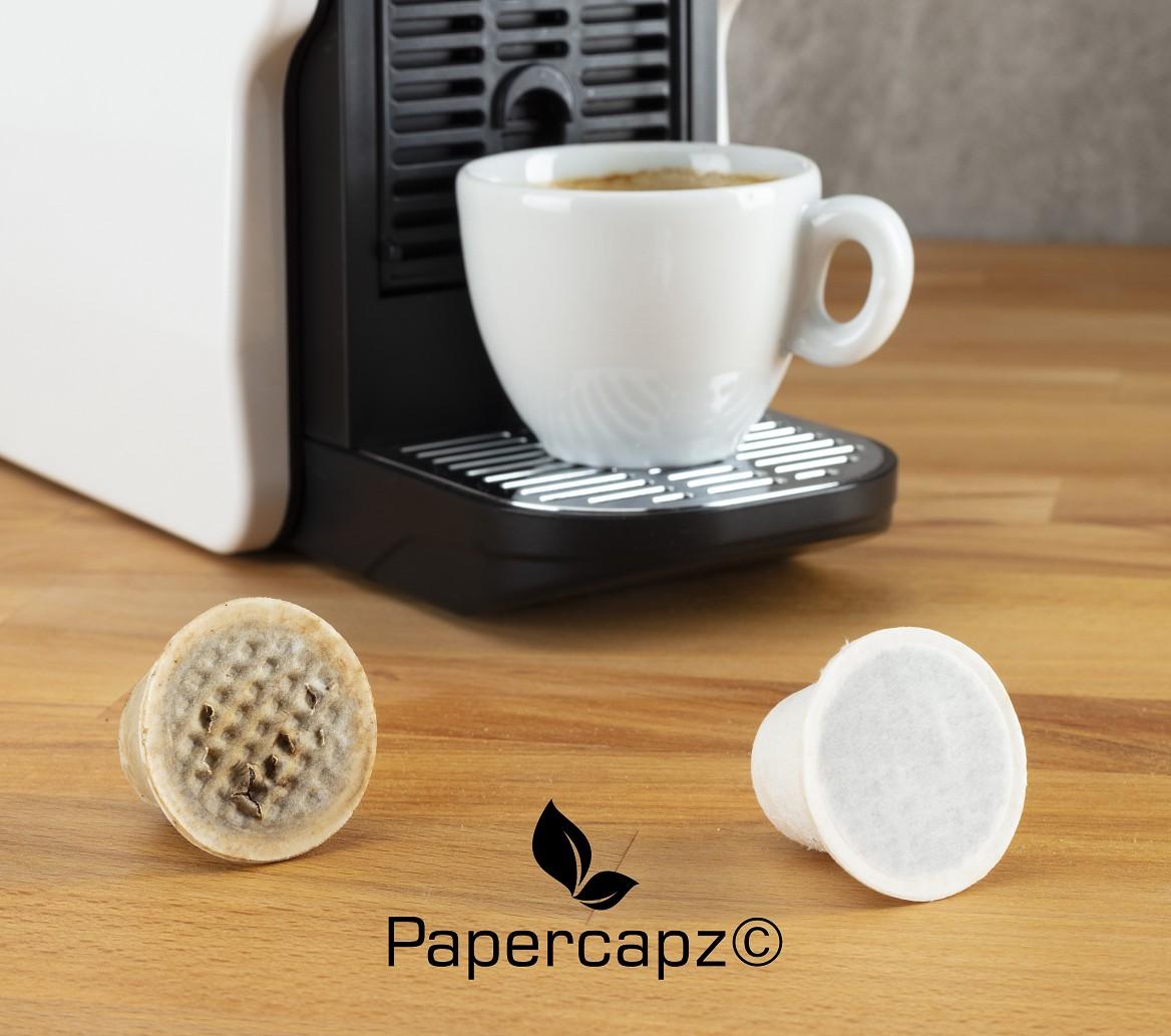 Papercapz Kaffeekapseln aus Zellulose