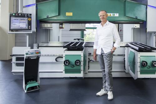 Thomas-Alexander Weber, Geschäftsführer der Hezinger Maschinen GmbH