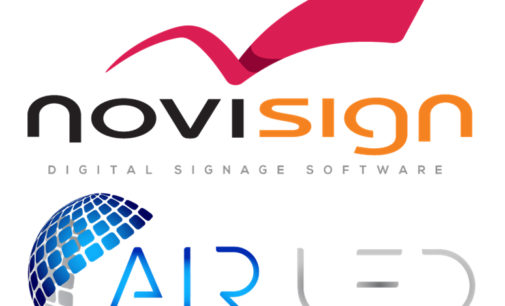 AIR-LED wird neuer NoviSign Partner