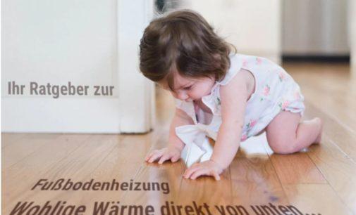 Kostenloser Ratgeber zur Planung von Fußbodenheizungen