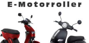 Erweiterung der E-Mobilität: Neue 45er E-Motorroller von AsVIVA erhältlich