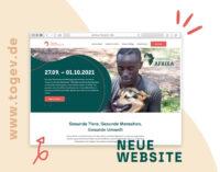 Tierärzte ohne Grenzen relauncht Website: Emotional. Persönlich. Transparent.