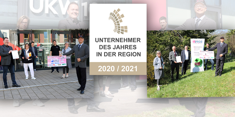 Preisverleihung an die Jehle Technik GmbH und Günther Baumann GmbH