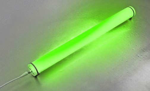 RGB-W LED-Chips im Cluster