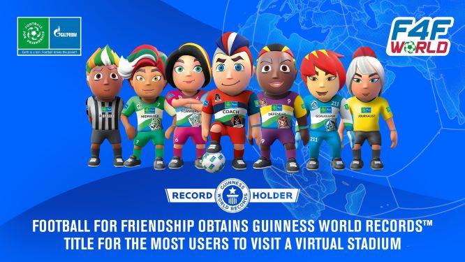 F4F stellt neuen GUINNESS WORLD RECORDS™ für die meisten Nutzer eines virtuellen Stadions auf.