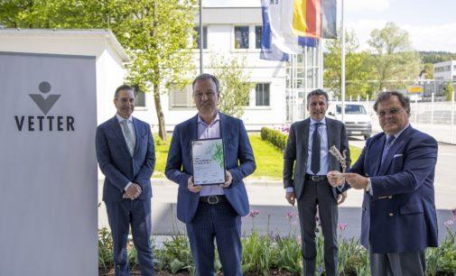 Vetter gewinnt erneut Axia Best Managed Companies Award