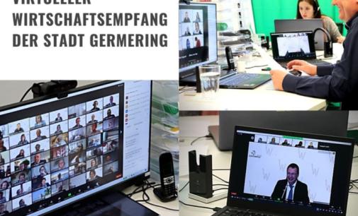 Virtueller Wirtschaftsempfang der Stadt Germering – erfolgreich durchgeführt durch SH Events München