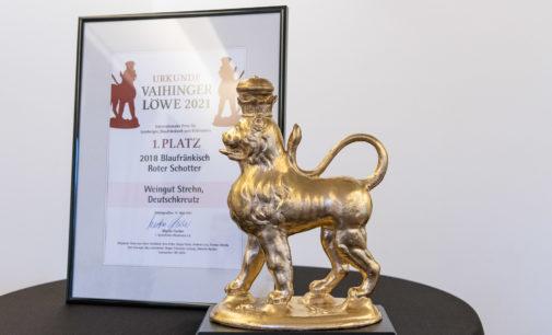 """29. """"Vaihinger Löwe – Internationaler Preis für Lemberger"""" 2021 geht nach Österreich"""