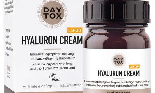 NEU: die DAYTOX Hyaluron Cream mit LSF20
