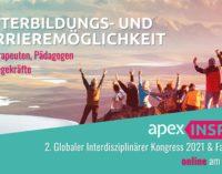 apex INSPIRE: Digitaler und kostenfreier Kongress für therapeutische und pädagogische Fachkräfte sowie Pflegekräfte startet im Mai