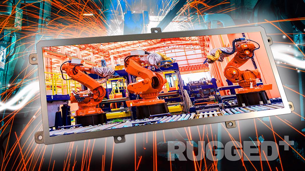 Distec bietet TFT-Displays der ausgesprochen robusten und widerstandsfähigen Rugged-Serie von KOE