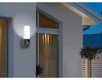 VisorTech LED-Außenwandleuchte & WLAN-Full-HD-Kamera