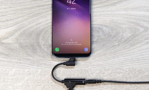 auvisio Kopfhörer-Adapter USB-C auf 3,5-mm-Klinke