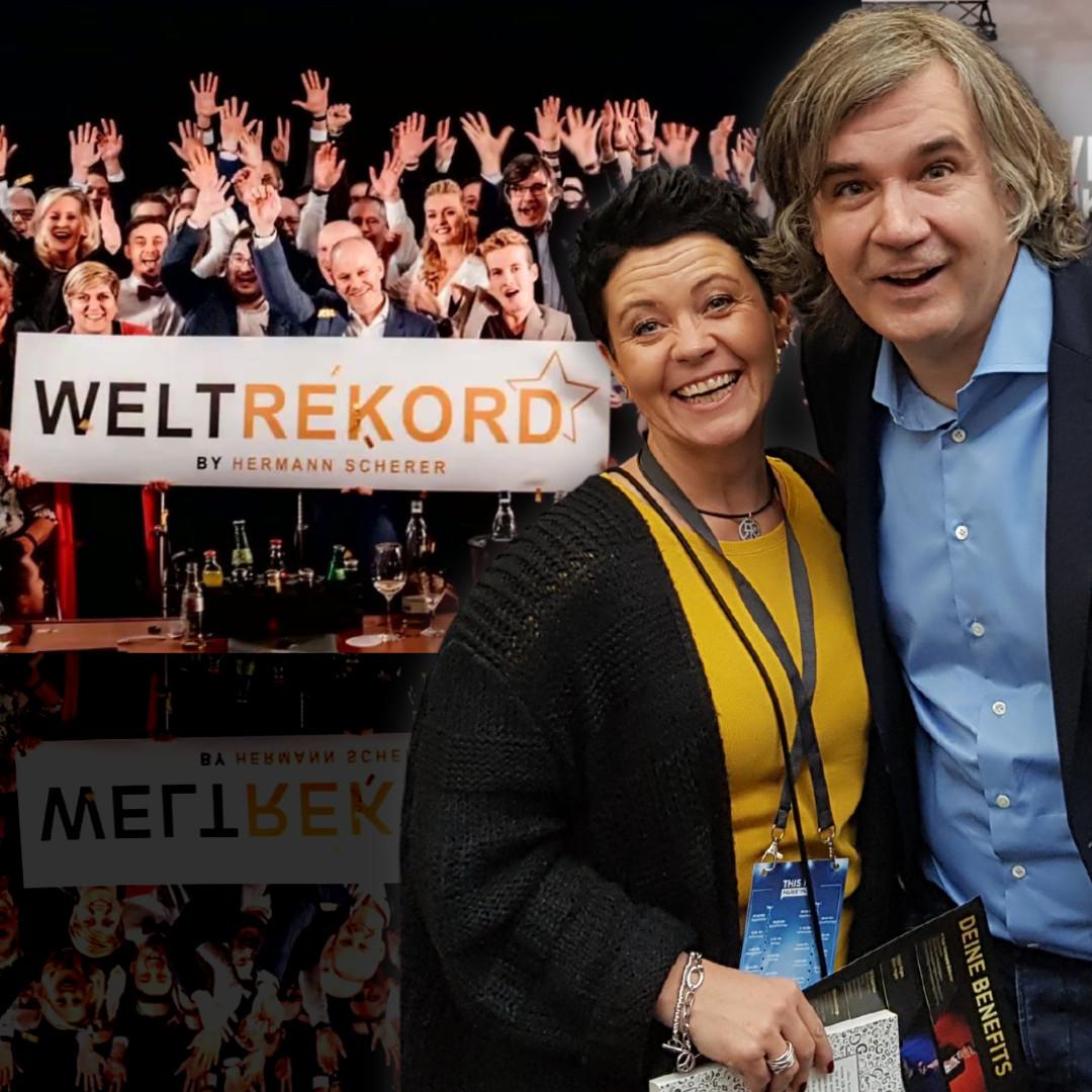 Hedda Stroh mit Hermann Scherer