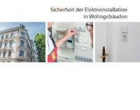 Gefahrenquelle veraltete Elektroanlage