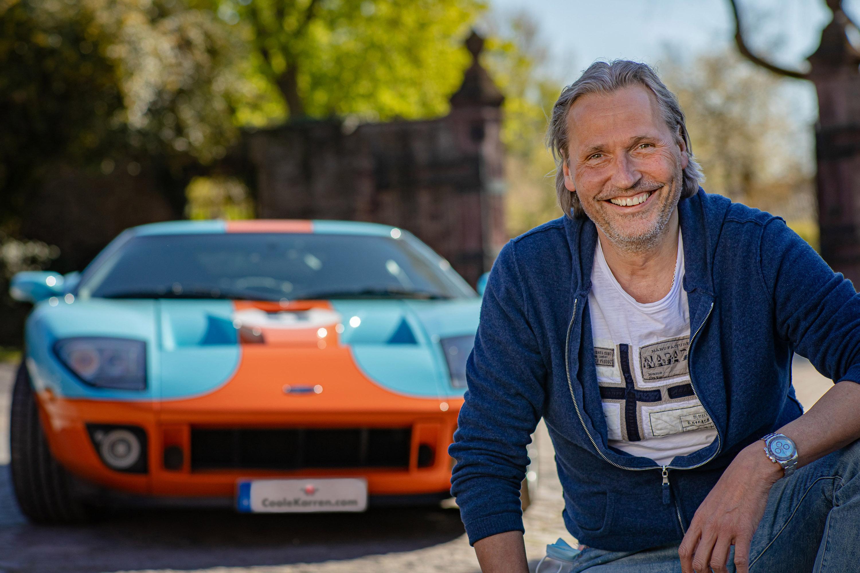 Klaus A. Westrick, Gründer der Auto- und Lifestyle-Plattform CooleKarren.com