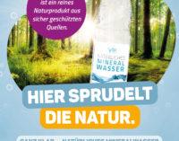 Brancheninitiative klärt auf: Natürliches Mineralwasser ist ein einzigartiges Naturprodukt