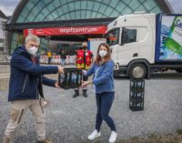 Gemeinsam gegen Corona: Carolinen unterstützt Team des Impfzentrums Bielefeld