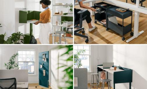 Herman Miller präsentiert die OE1 Workspace Collection