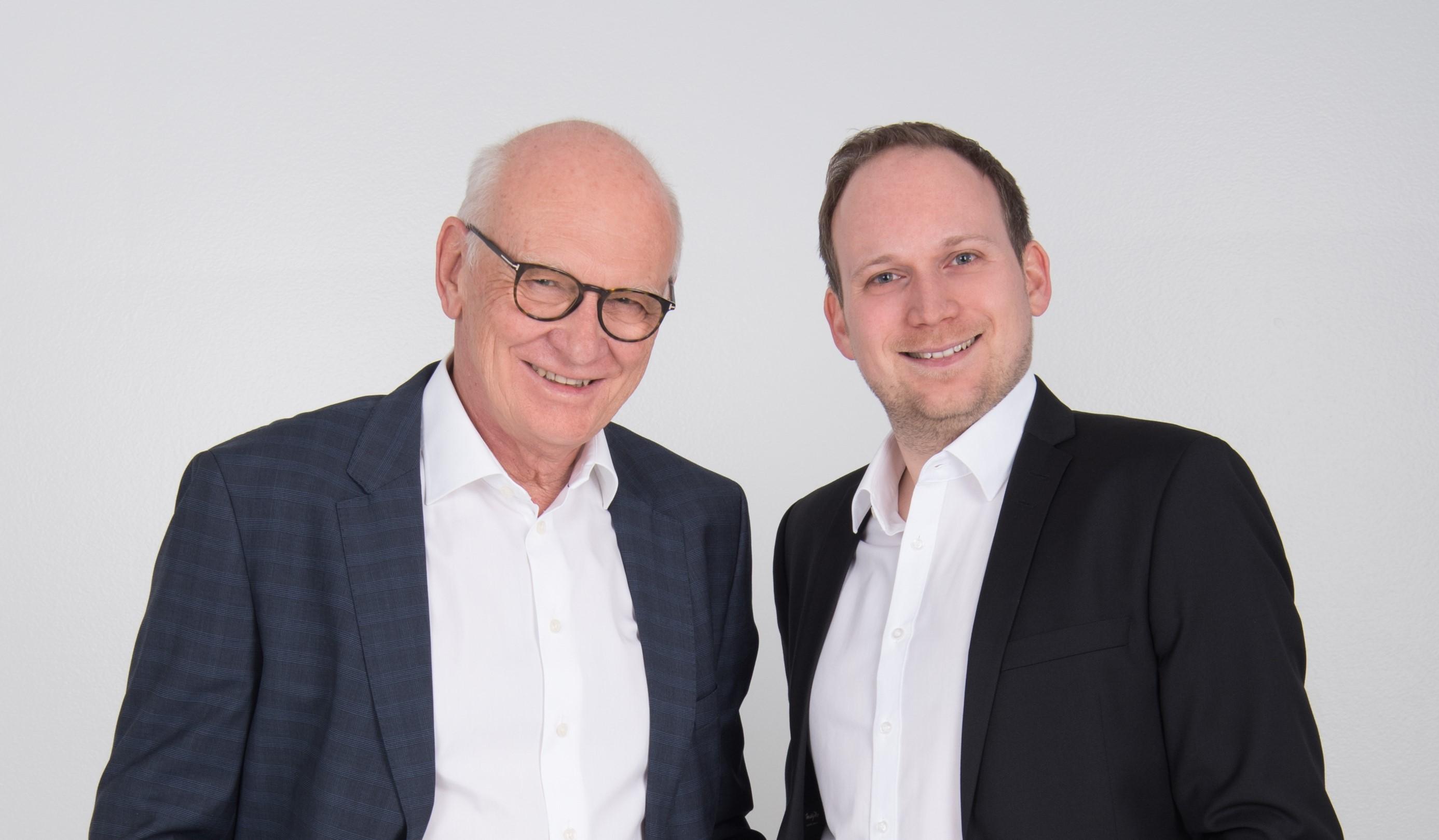 Wolfgang Dietzler und Björn Dietzler, Geschäftsführer bei ECS GmbH