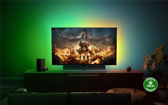 "Philips Momentum 55"" 4K ""Designed for Xbox""-Konsolen-Gaming-Monitor"