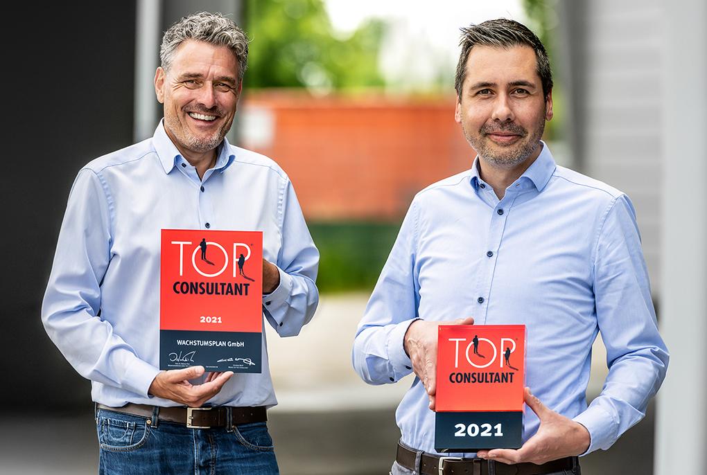 Vertriebsberater WACHSTUMSPLAN, Andreas Straehler und Dennis Fischer