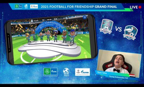 Football for Friendship 2021 vereint Teilnehmer aus über 200 Ländern und stellt dritten GUINNESS WORLD RECORDS auf