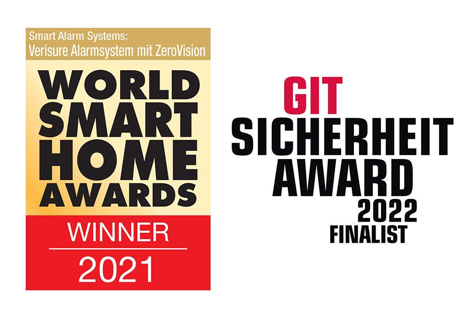 WSH Award Gewinner Verisure ist auch beim GIT Sicherheit Award im Finale; die Abstimmung läuft!