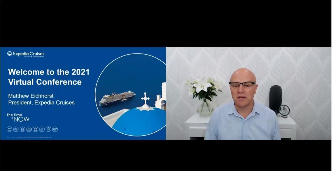 Matthew Eichhorst, President Expedia Cruises