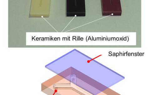 """Die hochwertigen """"Saphir""""- Bauteile von Kyocera unterstützen die Grundlagen der Elektronik und Flüssigkeitsanalytik"""