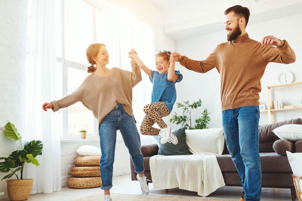 Eine kontrollierte Wohnraumlüftung sorgt effizient für frische Luft und ein gesundes Raumklima.