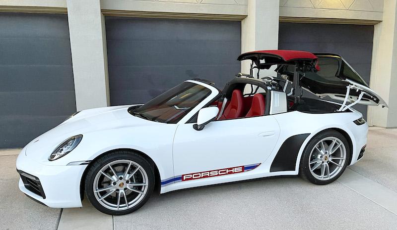 SmartTOP Zusatz-Verdecksteuerung für Porsche 911 Targa (992)