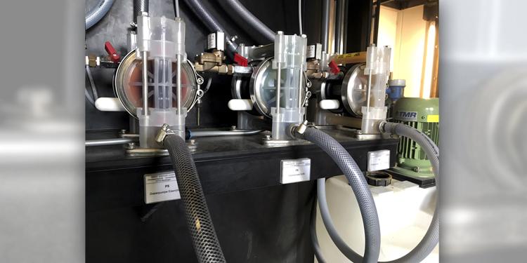 Die neue Abwasseraufbereitungsanlage der Walter Süßmuth GmbH Abwassertechnik aus Reutlingen.