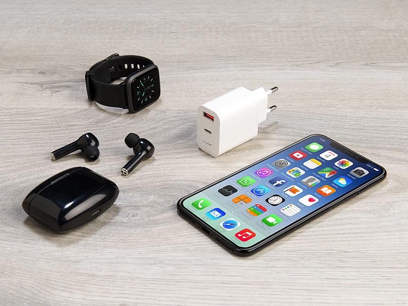 revolt USB-Netzteil für Typ A & C, PD bis 20 Watt, Quick Charge 3.0, 3 A, www.pearl.de