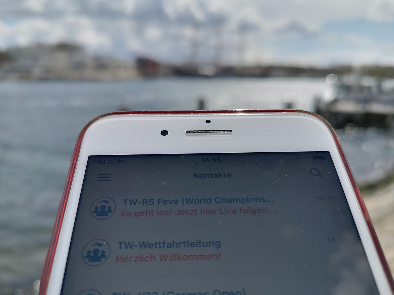 Der Lübecker Yachtclub nutzt erstmals Instant Messenger für die Organisation der Travemünder Woche