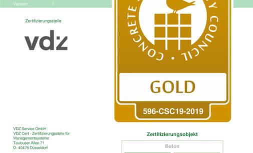OPTERRA Werk Wössingen mit Gold-Status